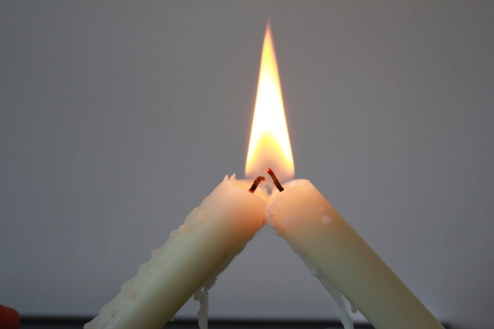 Candles. two in one